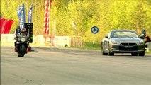 Suzuki GSX 1300R Hayabusa vs GSX R 1000 vs Nissan GT R