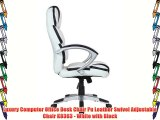 Excellent Buerostuhl24 Stady 685950 Office Swivel Chair White Black Creativecarmelina Interior Chair Design Creativecarmelinacom