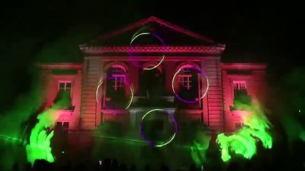 show laser Vailly (02) 14 juillet 2014
