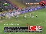 26.08.2010 - 2010-2011 European League Play-Off Round 2nd Leg Fenerbahçe 1-1 PAOK FC