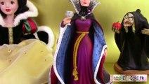 Disney Princesse Blanche Neige Snow White Poupée Figurines Sorcière Méchante Reine