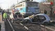 Le Plessis-Belleville : une blessée grave dans une  collision entre un train et une voiture