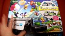 Unboxing Nintendo WiiU Wii U Super Mario Luigi Edition System Console Deluxe Premium 32GB