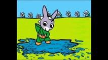 Dessin animé pour enfant de L'âne trotro : fait de la peinture (Episode saison français)  Reality Fun Videos
