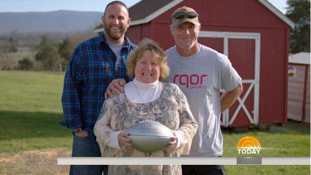 Together We Make Football: High School football team honors fallen heroes