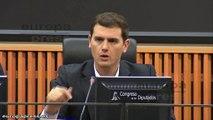"""Rivera acusa a Podemos de """"pensar sólo en escaños"""""""