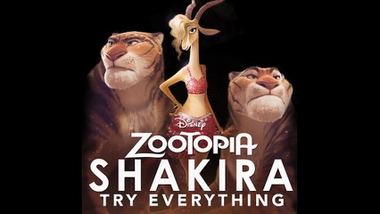 """New Shakira - Try Everything [From """"Zootopia""""]"""
