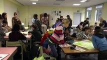 Première session brainstorming sur le budget participatif dans un collège - Paris