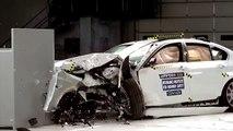 BMW 5 series small overlap IIHS crash test / BMW Çarpışma Testi