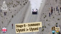 Stage 6 Summary - Car/Bike - (Uyuni / Uyuni)