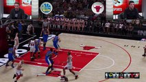 NBA 2K16 What If - Stephen Curry vs. Michael Jordan ['97 Bulls vs. '15 Warriors]