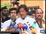 Imran Khan reaches Lady Reading Hospital without protocol on watch dailmotion