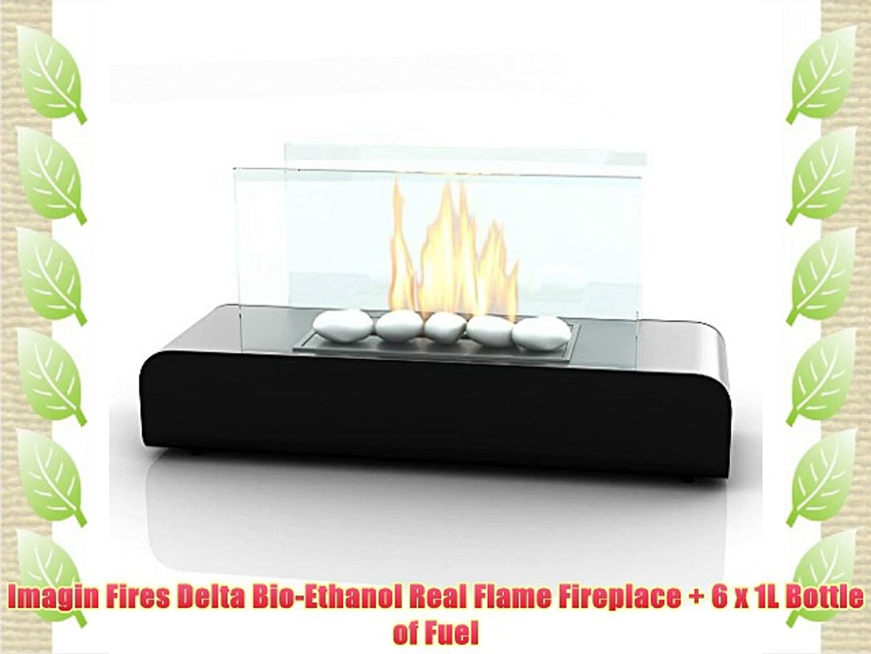 Superb Imagin Fires Delta Bio Ethanol Real Flame Fireplace 6 X 1L Bottle Of Fuel Download Free Architecture Designs Scobabritishbridgeorg