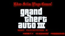 [PS2] Grand Theft Auto III Walkthrough - #4 - Marty Chonks' Missions
