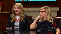 """""""It's Extremely Sexual"""": Larry King Gets Jillian Bell to Gush About Her Boyfriend"""
