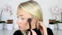 Dark, Smokey & Sparkly Eye and Lip Tutorial! | Lauren Curtis