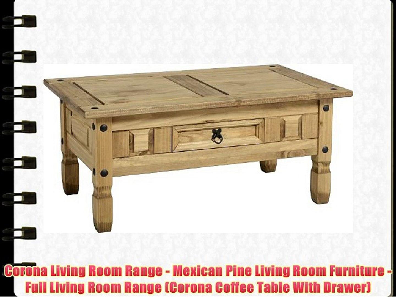 Corona Living Room Range Mexican Pine Furniture Full