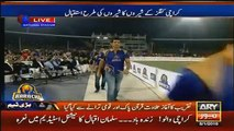 See how Muhammad Amir Welcomed By Karachi People