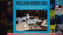 William Henry Goss The Inventor of Goss Porcelain