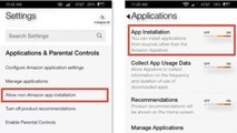 Install Google Play Store Apps on Amazon Fire Phone