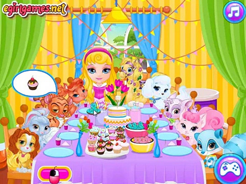 Kids Games Baby Barbie Palace Pets PJ Party