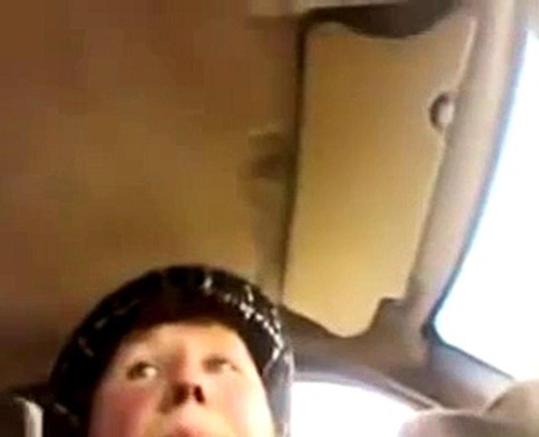 ржач тетка учится водить