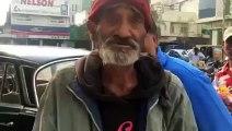 This baba needs help and he speaks amazingly good english