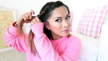 Running Late!! 3 Quick & Easy Hairstyles for Short/Medium Length Hair! ♡ ThatsHeart new