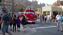 Disneylands Red from Cars Land is on his way to save Tower of Terror!!