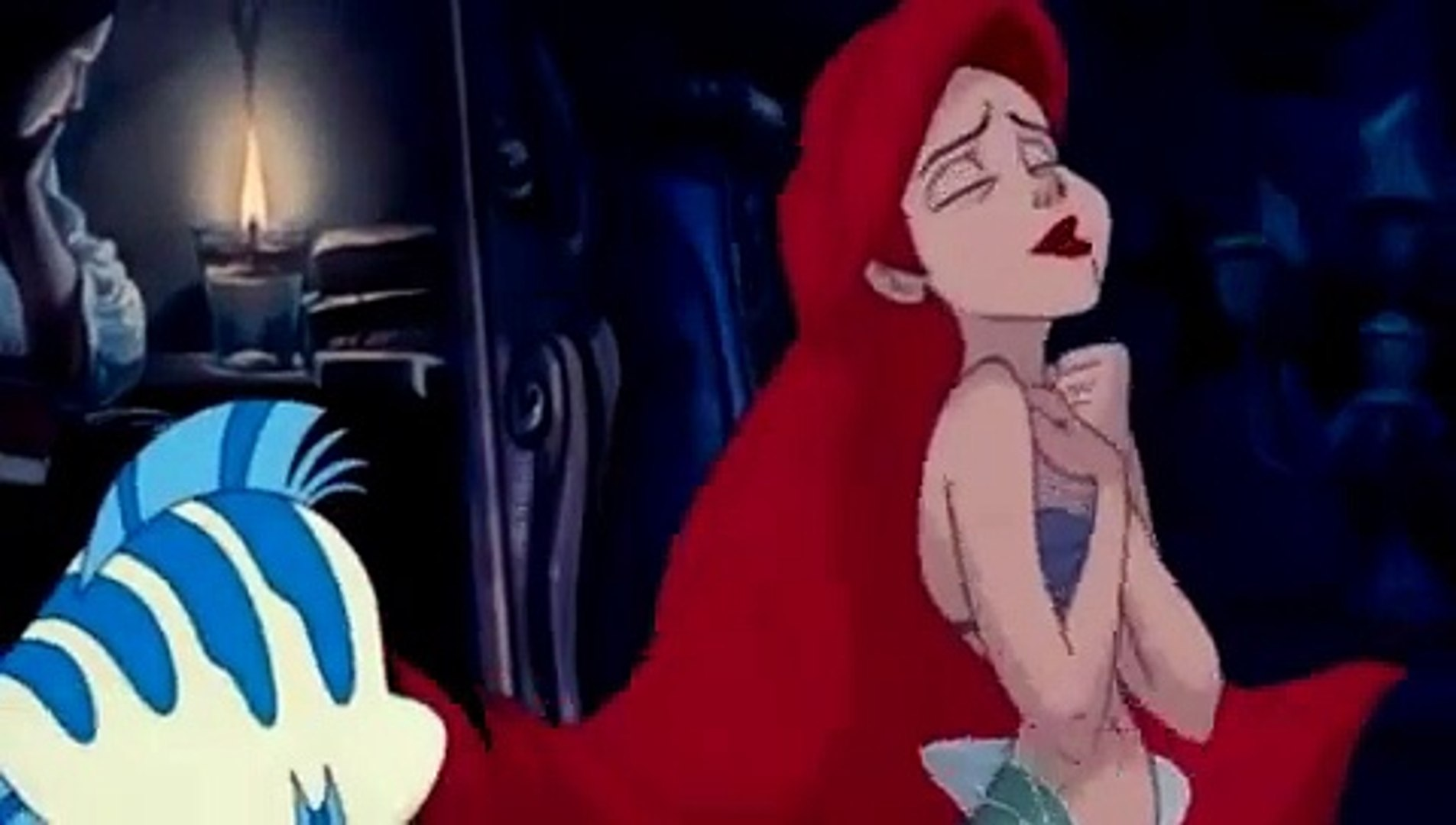 Ariel desene animate in romana MICA SIRENA