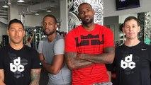 LeBron James & Dwyane Wade Training Together in Miami
