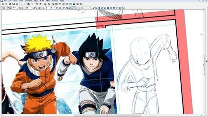 Como Desenhar Naruto - Ndraw