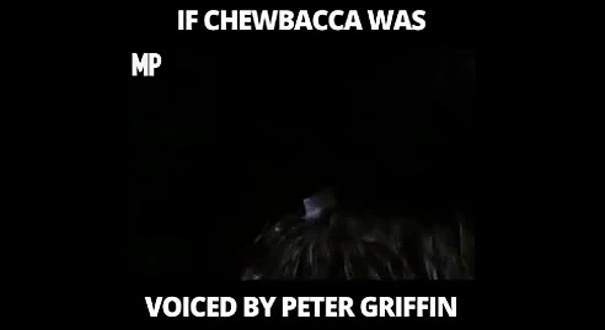 Peter Griffin: Video Mashup Surfaces of Family Guy Character Voicing Chewbacca From Star Wars