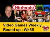 Week 35: Nintendo, Robin Williams, Women Gamers, Gamestop, DDoS, Swatted Gamer #LetsGrowTogether
