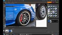 Photoshop Virtual Car Tuning