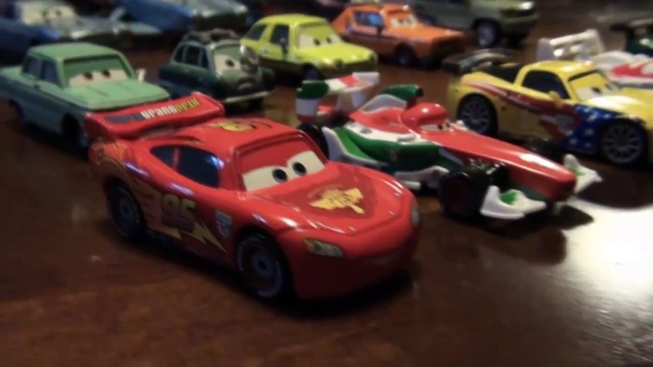 Pixar Cars 2 Collection of Cars 2 cars