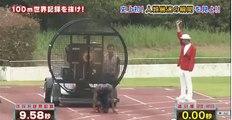 Les japonais battent le record du monde du 100m