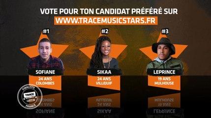 Vote pour la finale du concours TRACE MUSIC STAR !