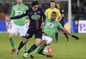 Coupe de France, 1/4 de finale : AS Saint-Etienne - Paris-SG (1-3), les buts