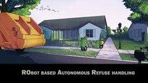 Volvo : des poubelles qui se vident automatiquement avec un drone et un robot