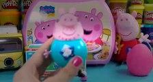 kinder surprise violetta peppa pig kinder surprise eggs play doh opening egg peppa pig toys playdoh