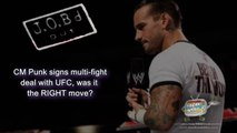 JOB'd Out - CM Punk Signs with UFC, but will he SUCCEED? (wrestling editorial)