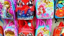 $1 Dollar Tree Doc Mcstuffins Backpack Bag with Disney Frozen, Crashlings Blind Bags, Hell