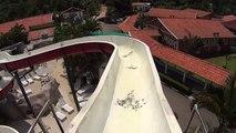 Kamika Water Slide at Magic City White Water Slide at Magic City and The Slalom Water Slide at Magic