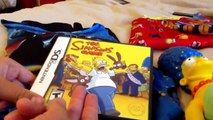 The simpsons game ds and Tetris ds unboxing.