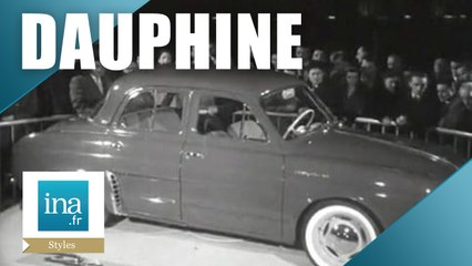 Voici la nouvelle Dauphine Renault   Archive INA