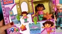 MegaBloks Doras Mermaid Adventure Playset 3031 Disney The Little Mermaid Ariel Play Doh Sirena