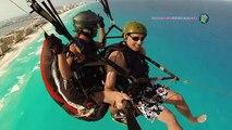 Paragliding in Cancún, México! Parapente