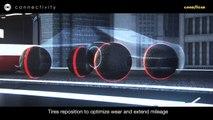 Goodyear lanza un neumático esférico para coches autónomos