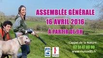 En Direct - AG des Chasseurs de Vendée - le 16 Avril 2016 à 9h